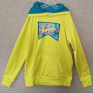 Fun Nike Pullover Hoodie - Size XL